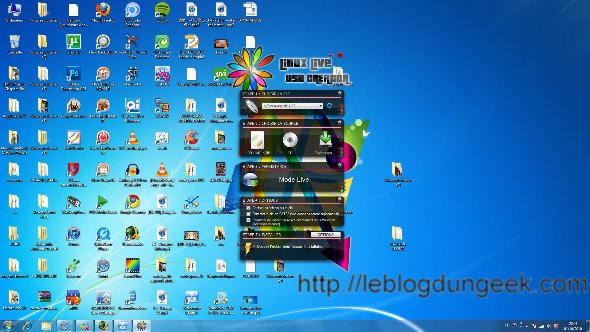 Linux usb live creator1 pc installer linux ubuntu depuis une clé usb